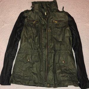michael kors army green jacket (BRAND NEW)